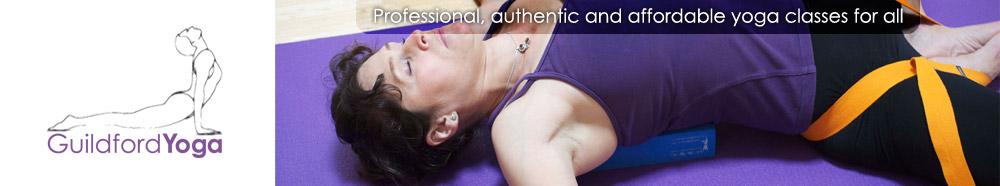 A healing yoga pose