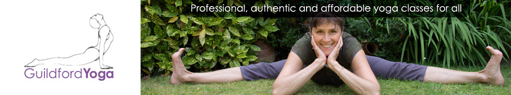 Luci Phipps teaches yoga in Guildford, Bramley and Godalming